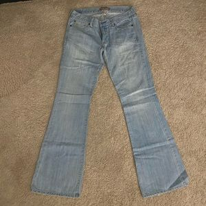 Abercrombie & Fitch light washed denim jeans